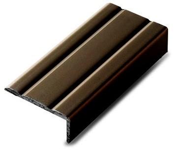Hoeklijnprofiel brons 10mm zelfklevend 100cm
