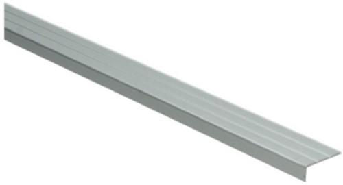 Hoeklijnprofiel zilver 10mm zelfklevend 100cm