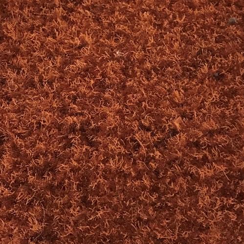 Borstelmat rood 150 cm breed