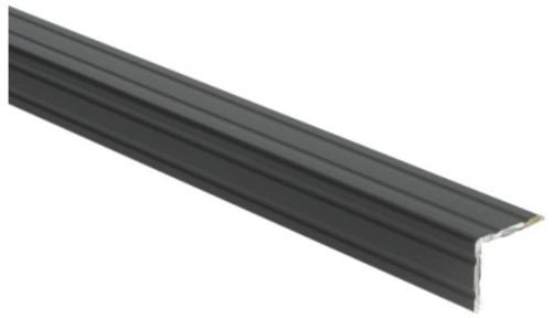 Duo hoeklijnprofiel zwart 30mm zelfklevend 100cm