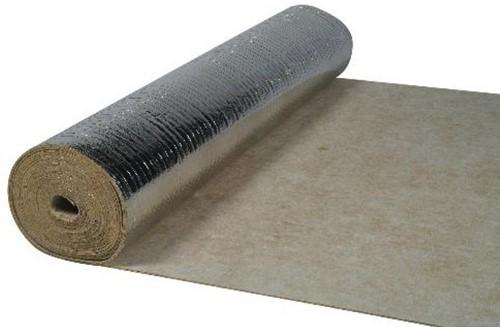 Ondervloer rubber Silence 10m² per rol