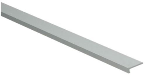 Hoeklijnprofiel zilver 4mm zelfklevend 250cm | klik pvc
