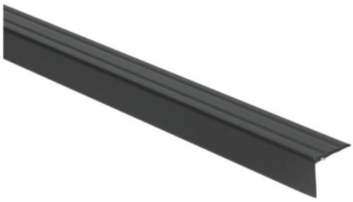 Hoeklijnprofiel zwart 20mm zelfklevend 300cm