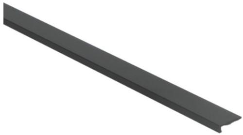 Hoeklijnprofiel zwart 4mm zelfklevend 250cm | klik pvc