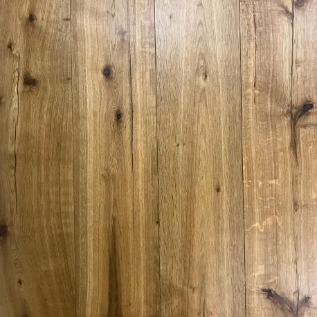 Lamelparket kleurstaal   Karakter 22cm - Gerookt naturel