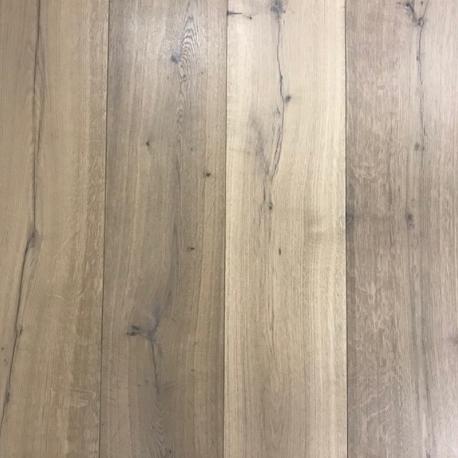Lamelparket kleurstaal | Karakter 22cm - Gerookt wit