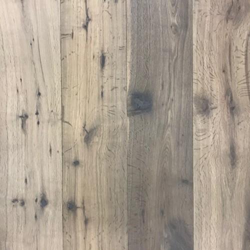 Lamelparket kleurstaal | Robuust 19cm - Gerookt wit