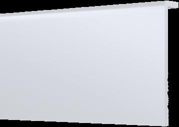 Flexibele overzetplint watervast wit 95mm x 2400mm