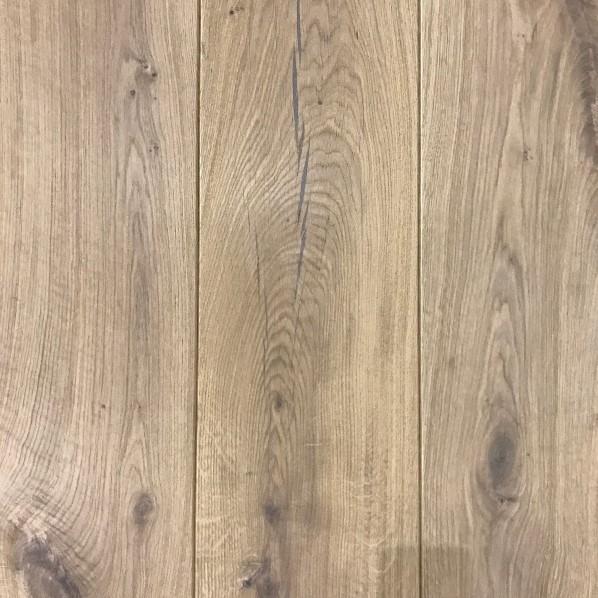 Welp Eiken houten vloer SOLID wit geolied 22cm breed   Laminaat, parket YC-75