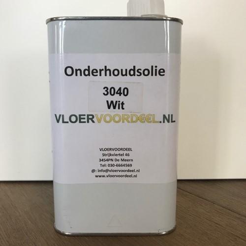 Onderhoudswasolie wit mat 1000ml - 1 liter