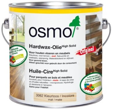 Osmo Hardwax High solid 3062 mat 2.5ltr - 50m²