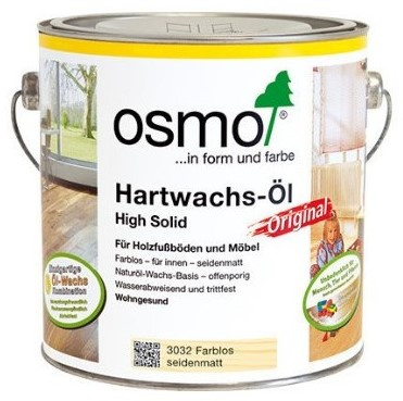 Osmo Hardwax High solid 3032 zijdemat 2.5 ltr