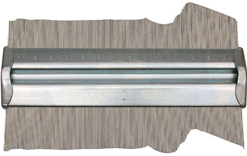 Profielaftaster aluminium 150mm