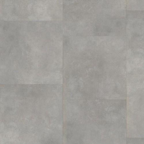 PVC click tegel Ceramo 61x61 Beton licht grijs 6211
