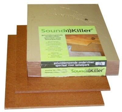 Ondervloer Soundkiller 10db TUV 4.06m² / pak