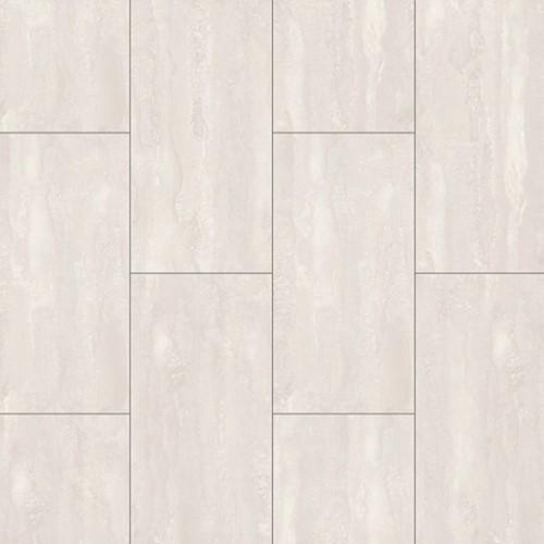Laminaat kleurstaal | Mega tegel 385 - Natuursteen wit