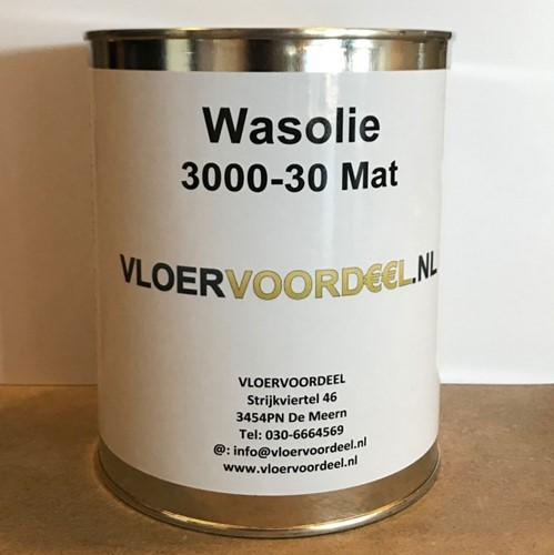 Wasolie naturel mat 1000ml - 1 liter