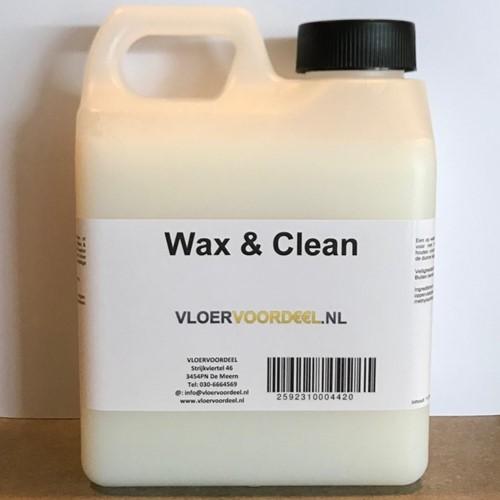 Wax & clean 1000ml - 1 liter
