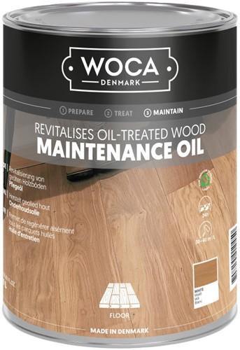 Woca onderhoudsolie wit 1000ml - 1 liter